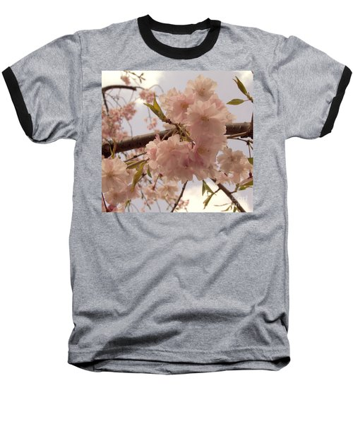 Baseball T-Shirt featuring the photograph Cherry Blossom 2 by Andrea Anderegg