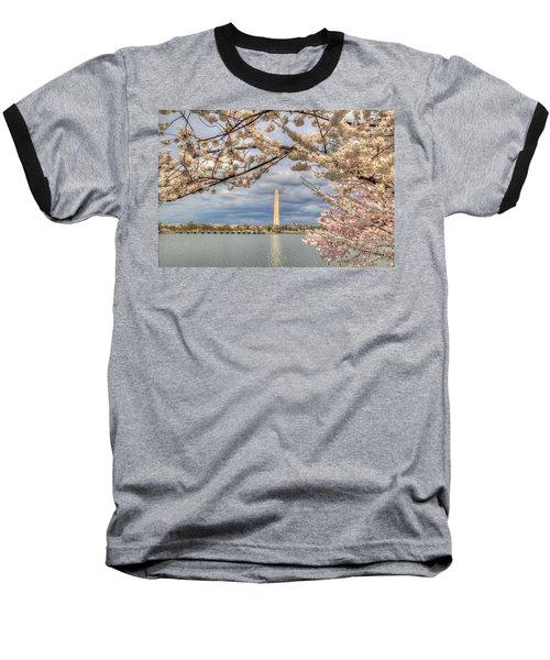 Cherry Blossoms Washington Dc 4 Baseball T-Shirt