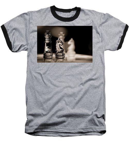 Chess King And Knight Baseball T-Shirt