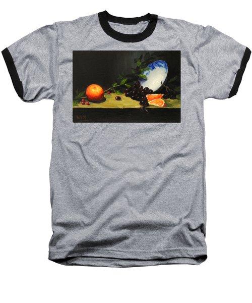 China Bowl And Fruits Baseball T-Shirt