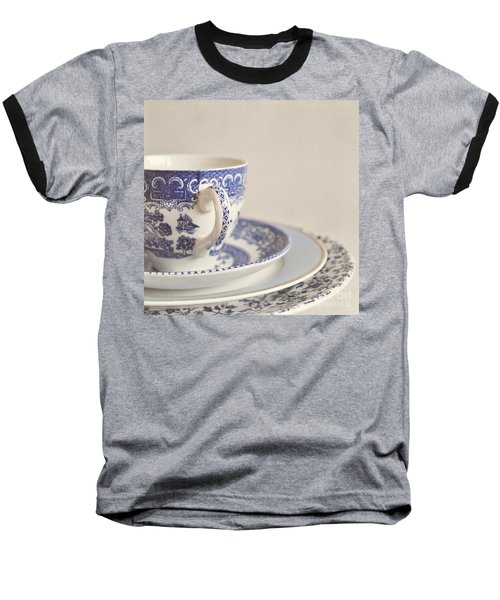 China Cup And Plates Baseball T-Shirt by Lyn Randle