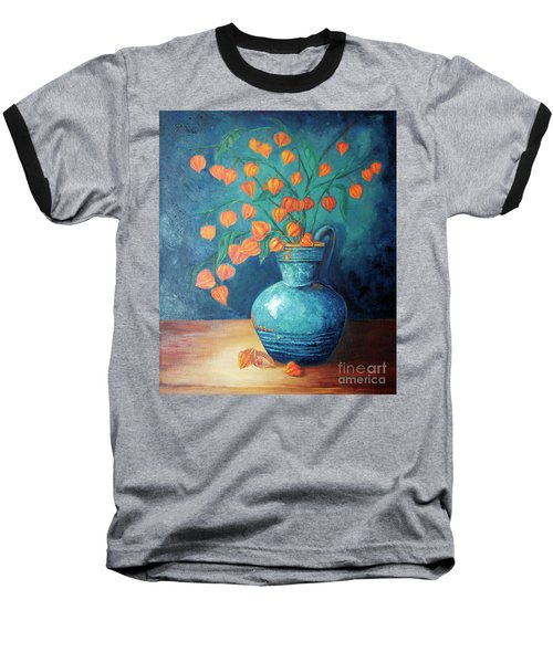 Chinese Lanterns Baseball T-Shirt