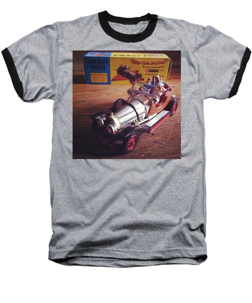 Chitty Chitty Bang Bang Corgi Toy Baseball T-Shirt
