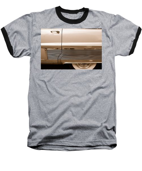 Baseball T-Shirt featuring the photograph Chrome by John Schneider