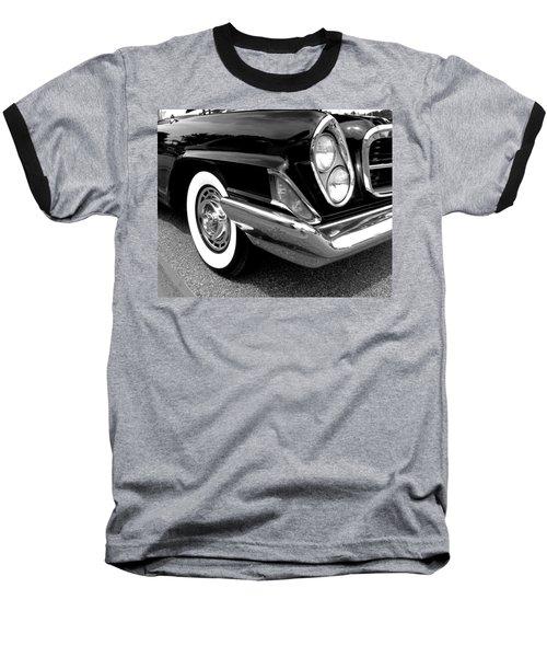 Chrysler 300 Headlight In Black And White Baseball T-Shirt