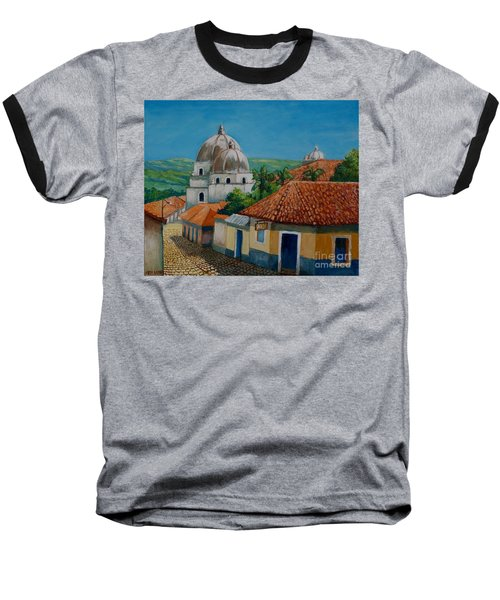 Church Of Pespire In Honduras Baseball T-Shirt