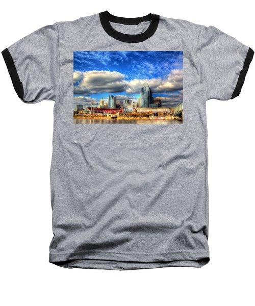 Cincinnati Skyline 2012 - 2 Baseball T-Shirt