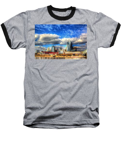 Cincinnati Skyline 2012 - 2 Baseball T-Shirt