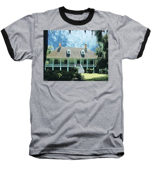Circa 1750 Parlange Plantation New Roads La Baseball T-Shirt