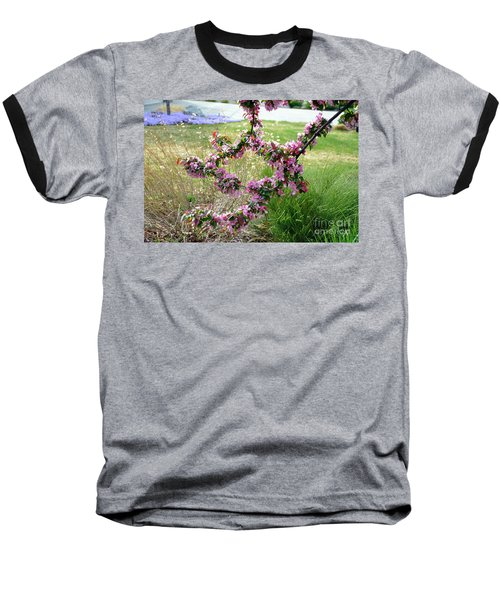 Circle Of Blossoms Baseball T-Shirt