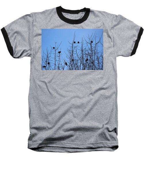 Circle Of Friends Baseball T-Shirt by Kume Bryant