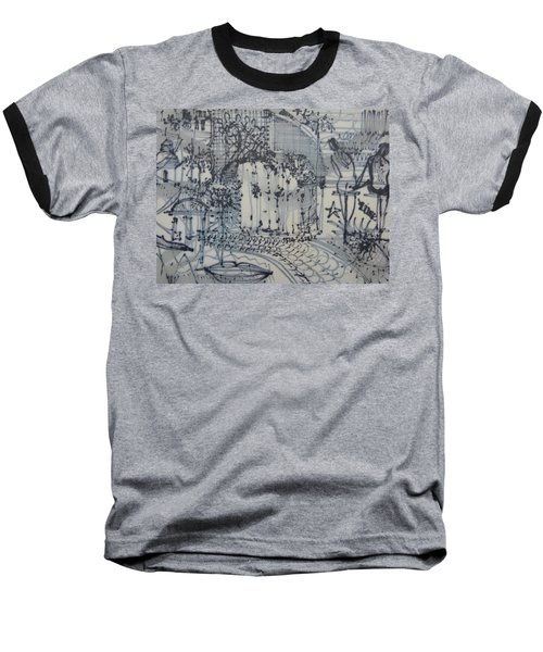 City Doodle Baseball T-Shirt