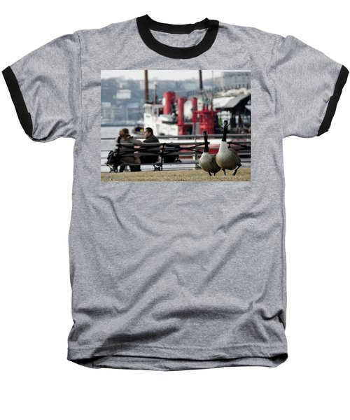 City Geese Baseball T-Shirt