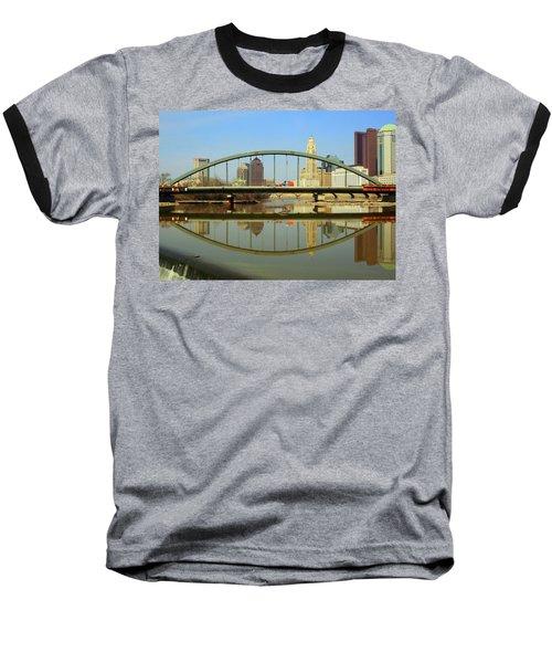 City Reflections Through A Bridge Baseball T-Shirt