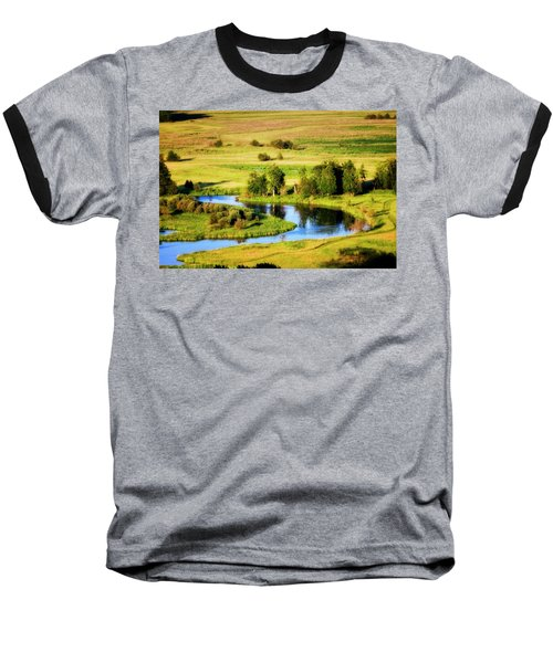Baseball T-Shirt featuring the photograph Clark Fork Delta  by Albert Seger