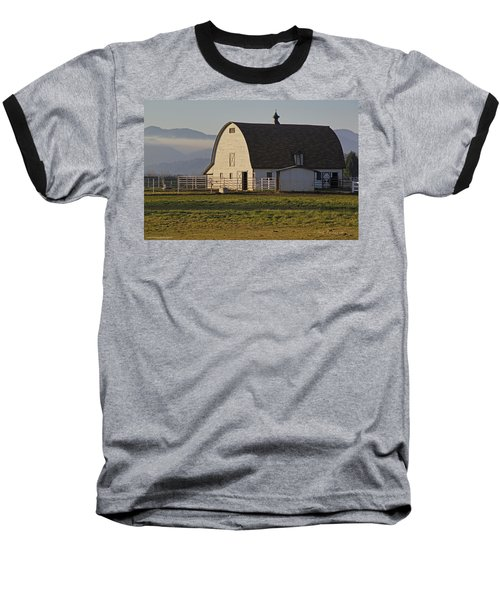 Classic Barn Near Grants Pass Baseball T-Shirt by Mick Anderson