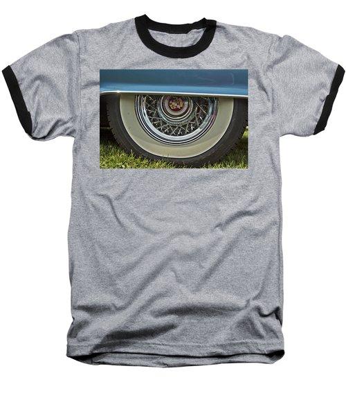 Classic Cadillac Wheel Baseball T-Shirt