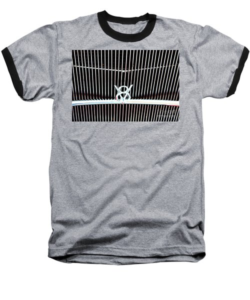 Baseball T-Shirt featuring the digital art Classic Ford Grill by Tony Cooper