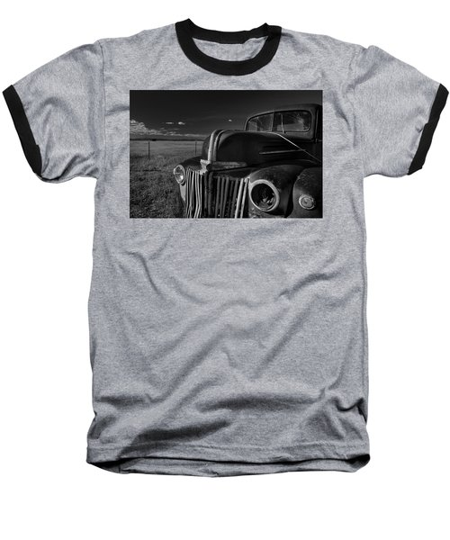 Baseball T-Shirt featuring the photograph Classic Rust by Ron Cline