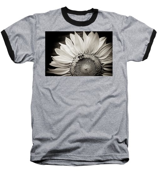 Baseball T-Shirt featuring the photograph Classic Sunflower by Sara Frank