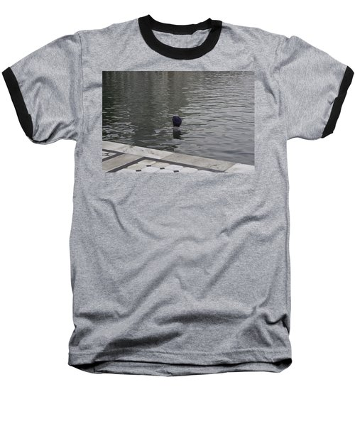 Baseball T-Shirt featuring the photograph Cleaning The Sarovar In The Golden Temple by Ashish Agarwal