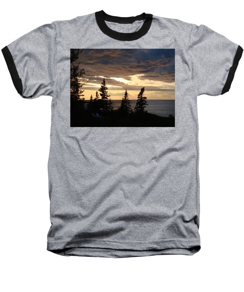 Baseball T-Shirt featuring the photograph Clearing Sky by Bonfire Photography