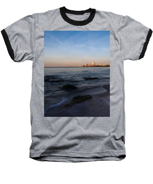 Baseball T-Shirt featuring the photograph Cleveland From The Shadows by Dale Kincaid