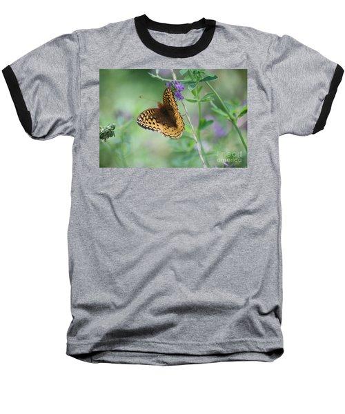 Close-up Butterfly Baseball T-Shirt