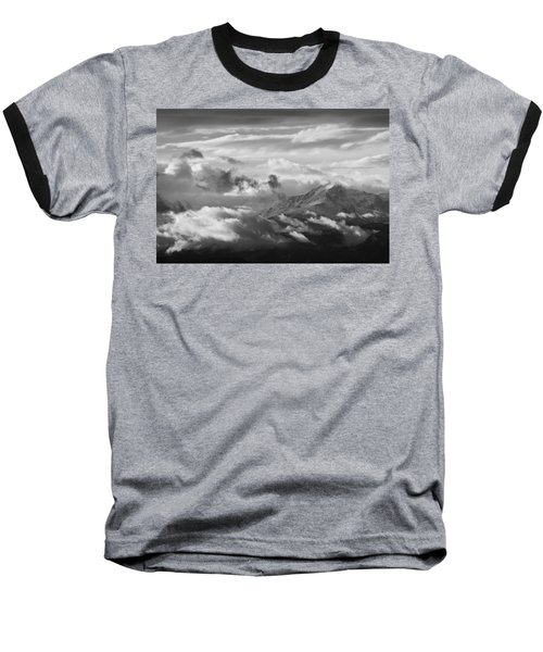 Cloud Art Baseball T-Shirt