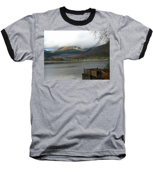Baseball T-Shirt featuring the photograph Cloud Over Beinn An Lochain by Lynn Bolt