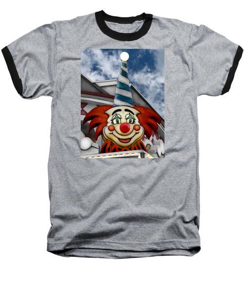 Clown Around Baseball T-Shirt