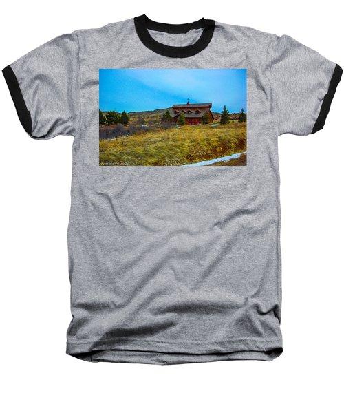 Baseball T-Shirt featuring the photograph Co. Farm by Shannon Harrington