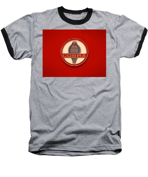 Cobra Emblem Baseball T-Shirt