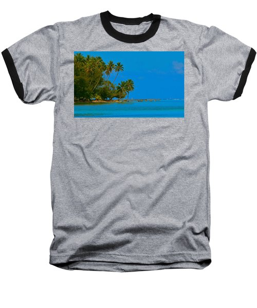 Baseball T-Shirt featuring the photograph Coconuts Anyone by Eric Tressler