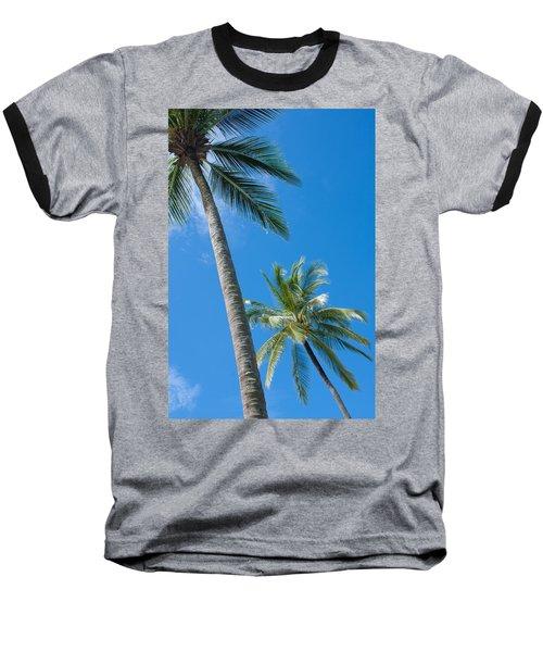 Coconuts  Baseball T-Shirt by Atiketta Sangasaeng
