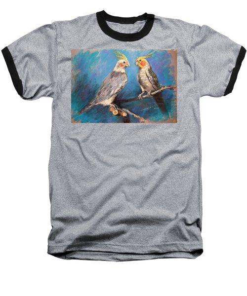Coctaiel Parrots Baseball T-Shirt