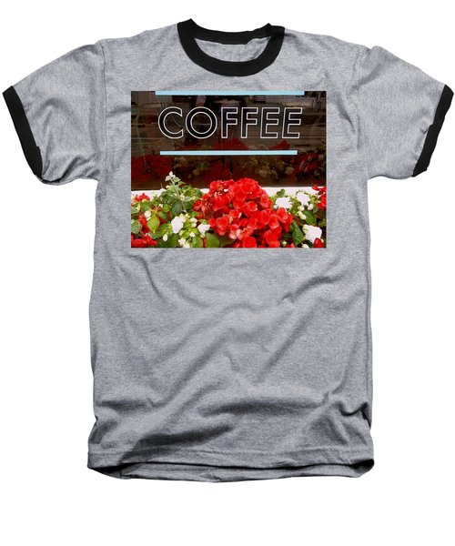 Baseball T-Shirt featuring the photograph Coffee by Cynthia Amaral