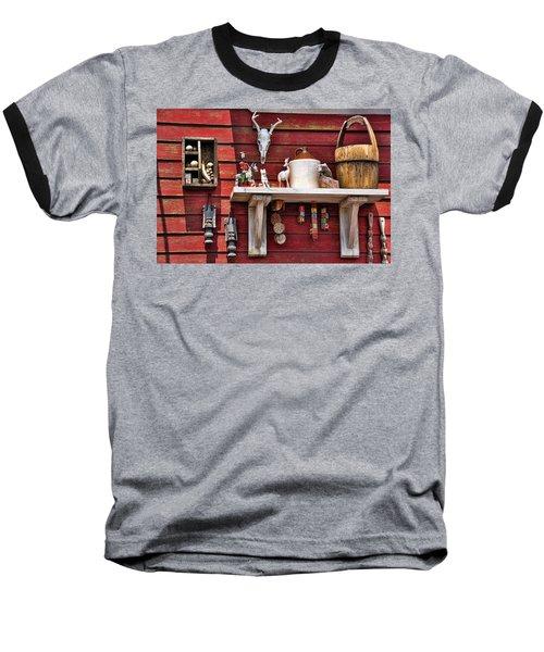 Collection On The Barn Baseball T-Shirt