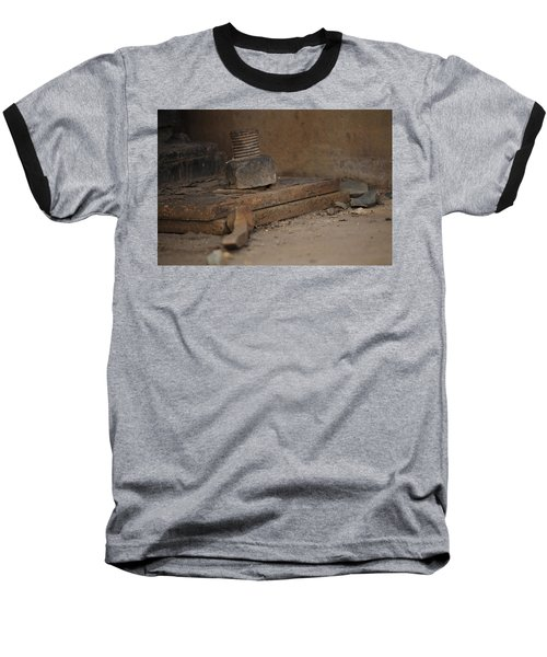Baseball T-Shirt featuring the photograph Color Of Steel 1 by Fran Riley