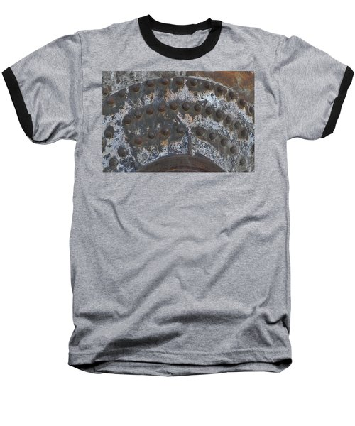 Baseball T-Shirt featuring the photograph Color Of Steel 7a by Fran Riley