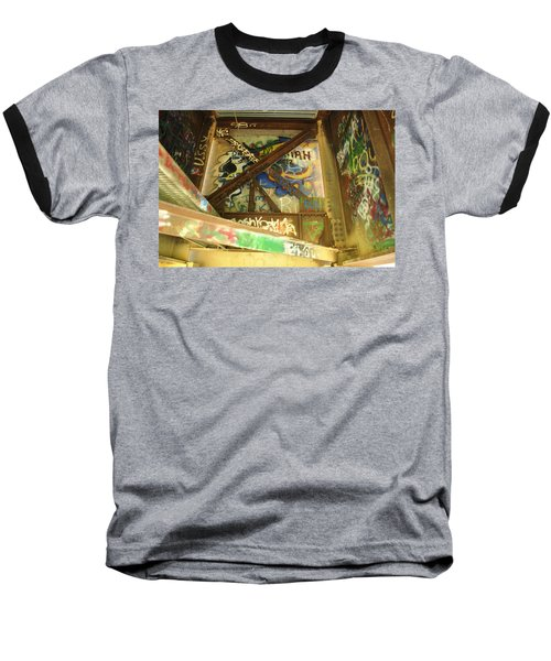 Baseball T-Shirt featuring the photograph Color Of Steel 8 by Fran Riley