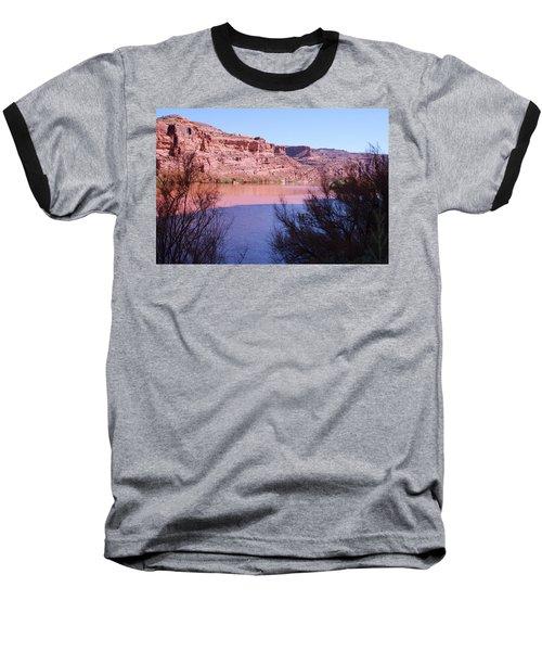 Colorado River After Rain - Utah Baseball T-Shirt