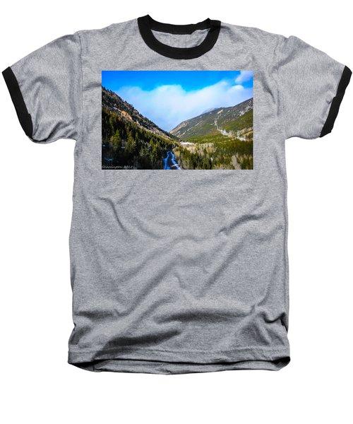 Baseball T-Shirt featuring the photograph Colorado Road by Shannon Harrington