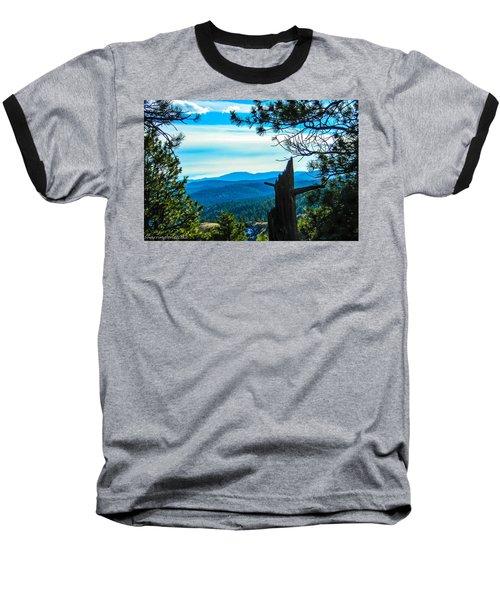 Baseball T-Shirt featuring the photograph Colorado View by Shannon Harrington