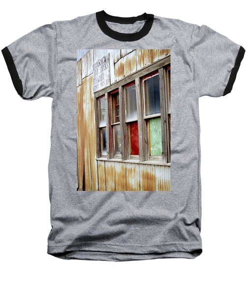 Baseball T-Shirt featuring the photograph Colorful Windows by Fran Riley