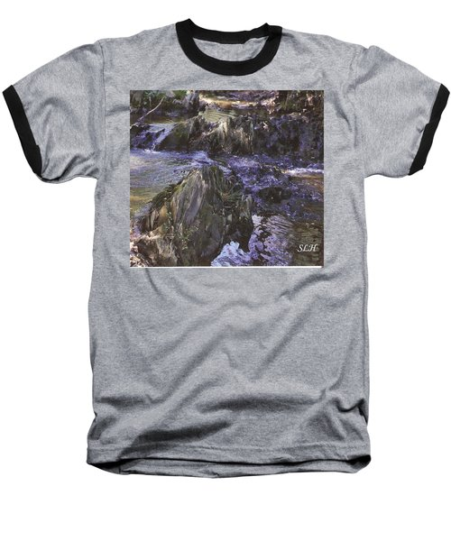 Colors In The Stream Baseball T-Shirt