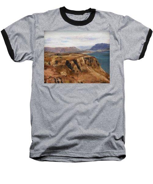 Columbia River Gorge I Baseball T-Shirt