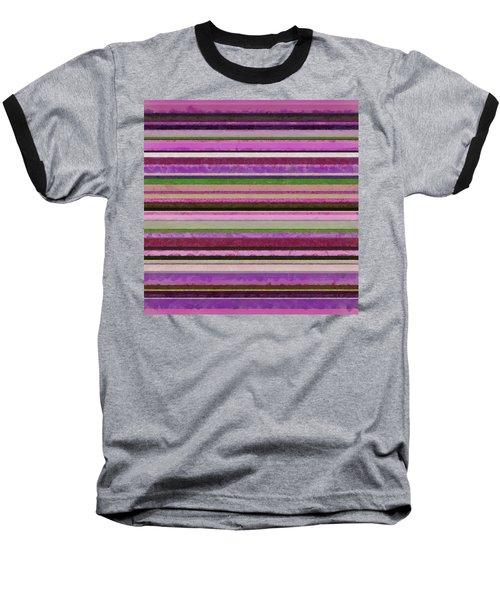 Comfortable Stripes Lll Baseball T-Shirt