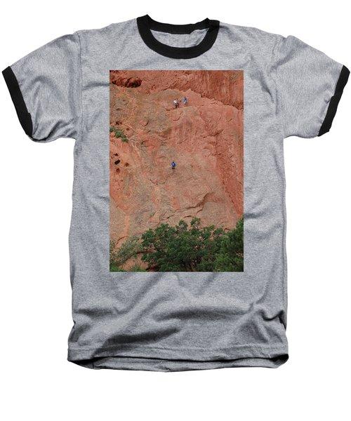 Coming Down The Mountain Baseball T-Shirt
