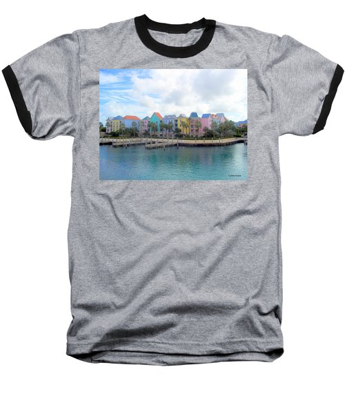 Baseball T-Shirt featuring the photograph Condo Living by Cynthia Amaral